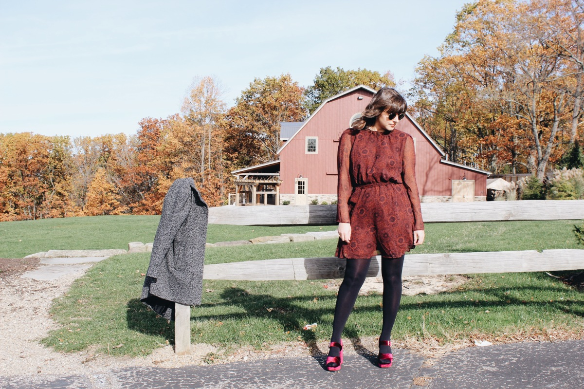 What to Wear // Late Fall Wedding